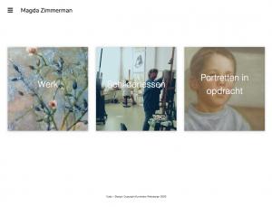 kunstidee webdesign - Magda Zimmerman