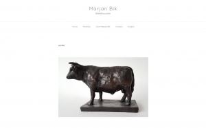 Kunstidee webdesign - Marjan Bik