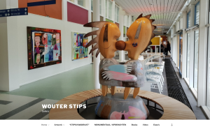 kunstidee webdesign - wouter stips